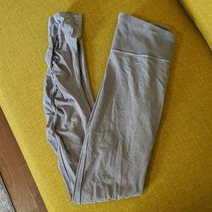 Lululemon Ruched Leggings Cotton Handfeel